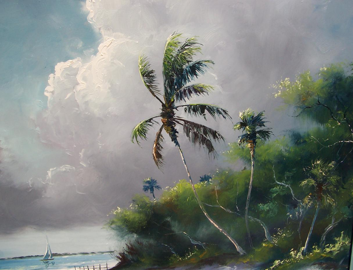 Landscape Oil Paintings by Florida Artist and Nature Lover Joyce